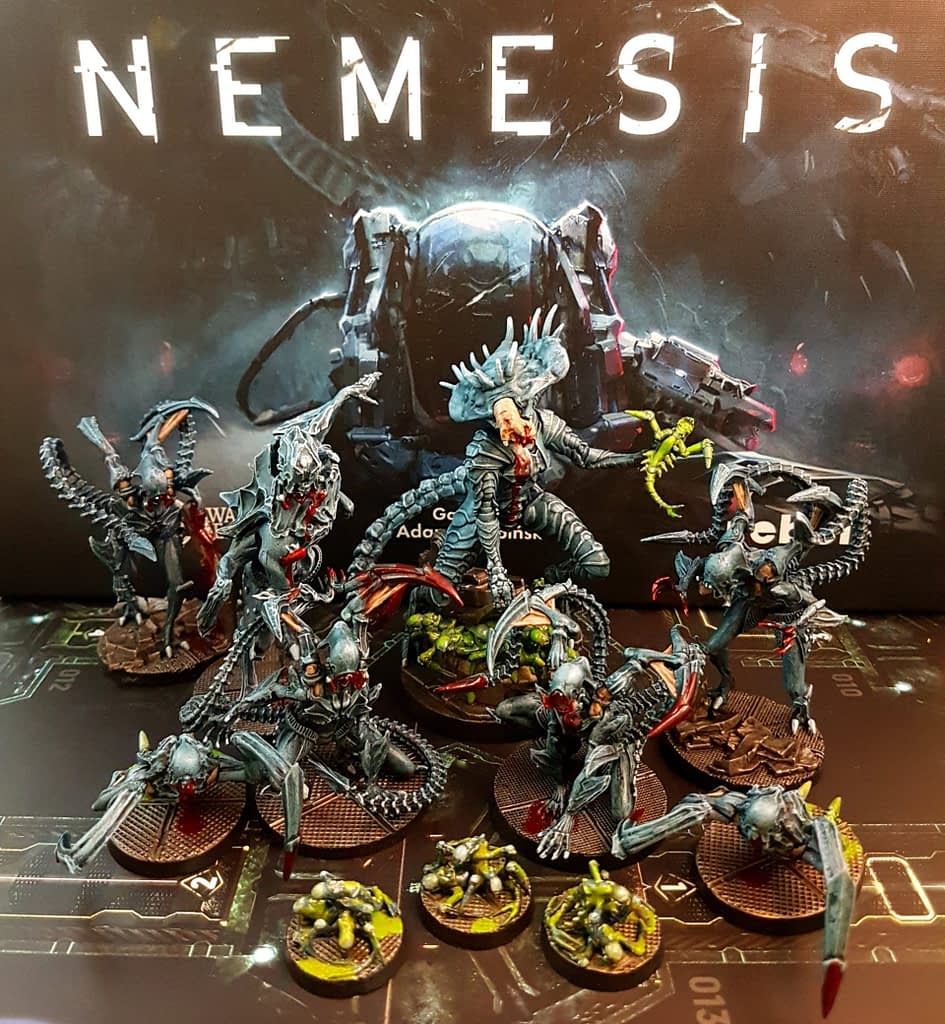 Nemesis Intruder family portrait a