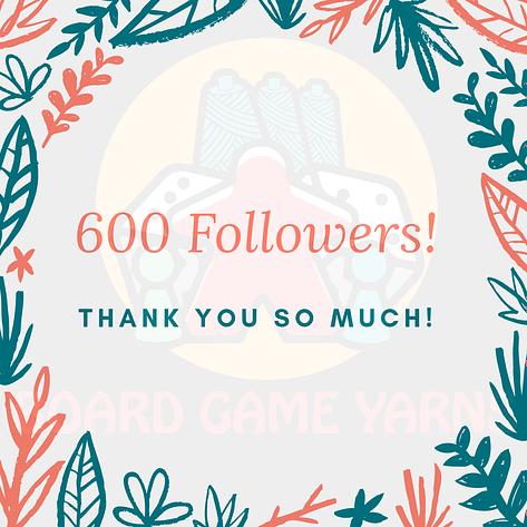 600 Instagram followers